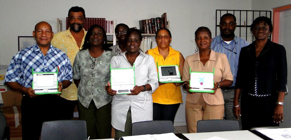 OLPC Teacher Training at Oranje School, St. Maarten