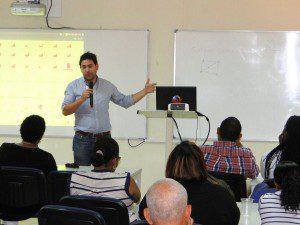 Manuel Ortega explains the workings of the spellchecker